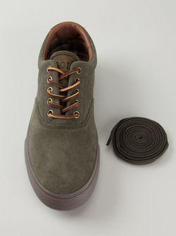 Кеды С Кожаными Шнурками Polo Ralph Lauren                                                                                                              зелёный цвет