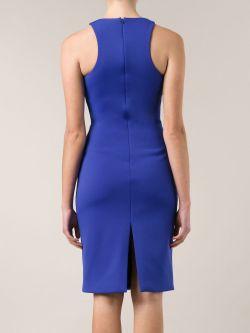 Облегающее Платье Cushnie Et Ochs                                                                                                              синий цвет