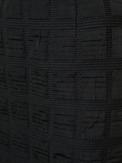 Юбка С Панельным Дизайном MOSCHINO VINTAGE                                                                                                              черный цвет