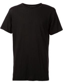Классическая Футболка JOHN ELLIOTT + CO.                                                                                                              черный цвет