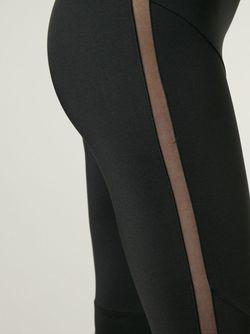 Леггинсы С Прозрачной Деталью Norma Kamali                                                                                                              чёрный цвет