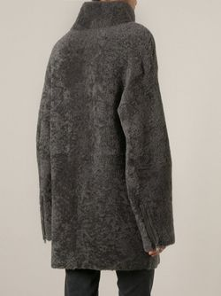 Пальто На Молнии SPRUNG FRERES                                                                                                              серый цвет