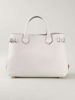 Сумка-Тоут Средних Размеров Burberry                                                                                                              белый цвет