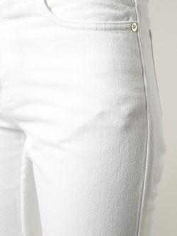 Джинсы Кроя Скинни Skin 5 Acne Studios                                                                                                              белый цвет
