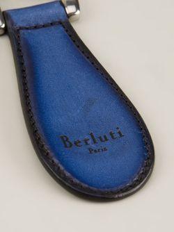 Брелок Vitello BERLUTI                                                                                                              синий цвет