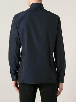 Классическая Рубашка Lanvin                                                                                                              синий цвет