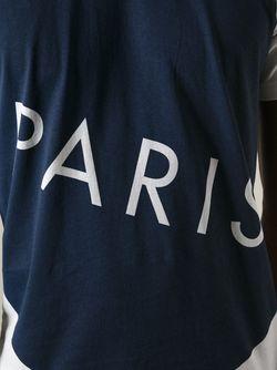 Футболка С Надписью Paris Kenzo                                                                                                              чёрный цвет