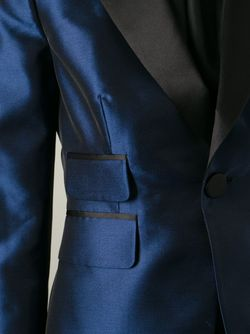 Блейзер С Металлическим Отблеском Dsquared2                                                                                                              синий цвет