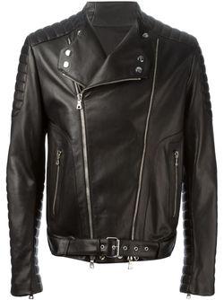 Байкерская Куртка Balmain                                                                                                              черный цвет