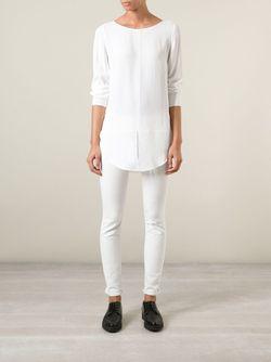 Блузка С Разрезом Спереди Dondup                                                                                                              белый цвет