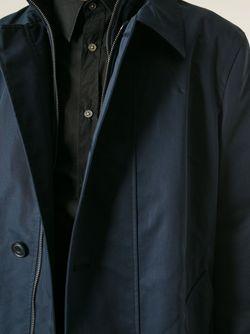 Тренч Со Съемным Жилетом Etro                                                                                                              синий цвет