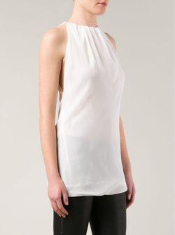 Топ Bag Rick Owens                                                                                                              белый цвет