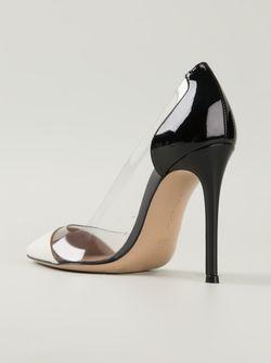 Туфли Plexi Gianvito Rossi                                                                                                              черный цвет