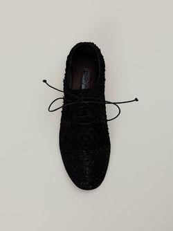 Текстурированные Дерби Marsell                                                                                                              чёрный цвет