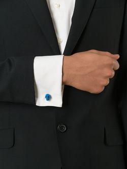 Запонки С Черепами Alexander McQueen                                                                                                              синий цвет
