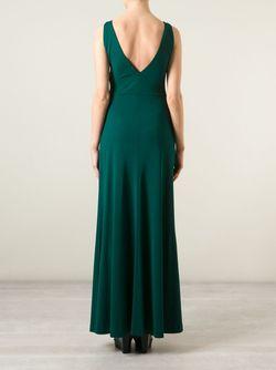 Платье С Глубоким Вырезом На Спине Etro                                                                                                              зелёный цвет