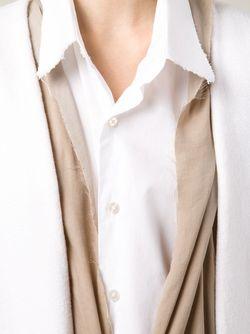 Пальто С Контрастной Отделкой SABINE LUISE                                                                                                              белый цвет