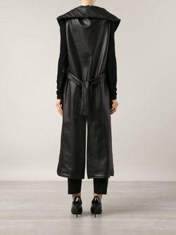 Длинная Куртка Без Рукавов SABINE LUISE                                                                                                              черный цвет