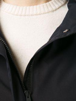 Длинная Парка С Капюшоном Herno                                                                                                              черный цвет
