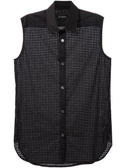 Сетчатая Рубашка Без Рукавов Tess Giberson                                                                                                              чёрный цвет