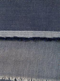 Шарф С Джинсовым Эффектом Neil Barrett                                                                                                              синий цвет