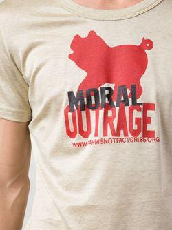 Футболка Moral Outrage Vivienne Westwood                                                                                                              Nude & Neutrals цвет