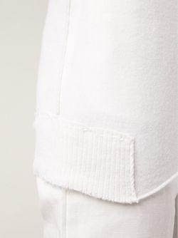 Свитер С V-Образным Вырезом Kristensen Du Nord                                                                                                              белый цвет
