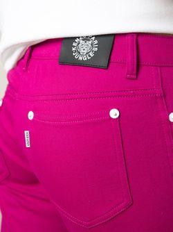 Укороченные Джинсы Kenzo                                                                                                              розовый цвет