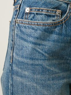 Укороченные Джинсы Annie Marc by Marc Jacobs                                                                                                              синий цвет