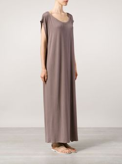 Длинное Платье С Разрезами По Бокам LIWAN                                                                                                              коричневый цвет