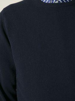 Свитер С Круглой Горловиной E. Tautz                                                                                                              синий цвет