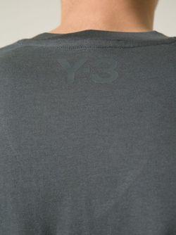 Футболка C V-Вырезом Y-3                                                                                                              серый цвет