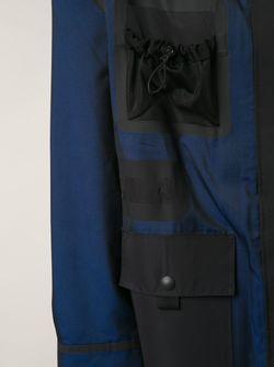 Объёмное Пальто Alexander Wang                                                                                                              синий цвет