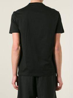 Футболка С Медузой Versace                                                                                                              черный цвет
