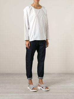 Блузка С Открытыми Видными Швами Sofie D'Hoore                                                                                                              белый цвет