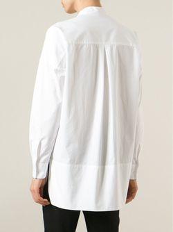 Рубашка С Воротником-Стойкой Alberto Biani                                                                                                              белый цвет