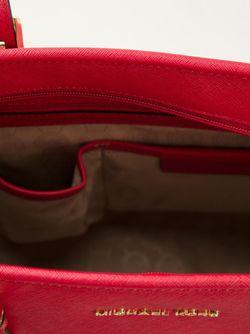 Сумка-Тоут Jet Set Travel Michael Michael Kors                                                                                                              красный цвет