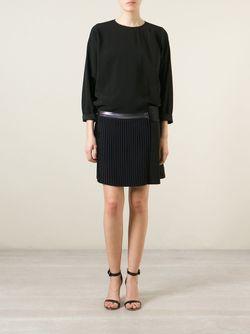 Платье С Плиссированной Юбкой На Молнии Victoria, Victoria Beckham                                                                                                              чёрный цвет