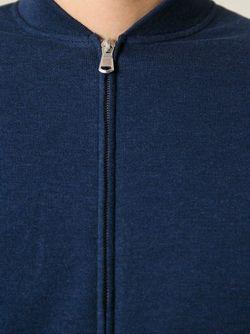 Кардиган На Молнии Brunello Cucinelli                                                                                                              синий цвет