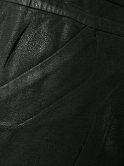 Брюки С Заниженной Проймой JULIUS                                                                                                              чёрный цвет