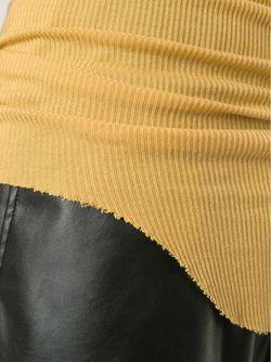 Удлинённая Майка Rick Owens                                                                                                              желтый цвет