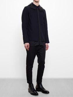 Куртка С Капюшоном Ann Demeulemeester                                                                                                              черный цвет
