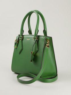 Маленькая Сумка-Сэтчел Casey Michael Kors                                                                                                              зелёный цвет