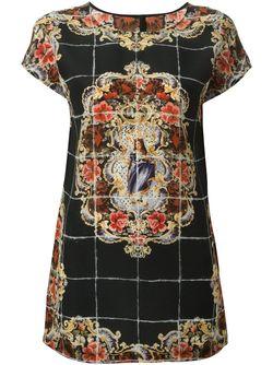 Топ Majolica Dolce & Gabbana                                                                                                              чёрный цвет