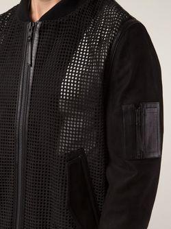 Куртка С Панелями В Сетку Blk Dnm                                                                                                              черный цвет