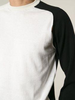 Свитер С Контрастными Панелями Ann Demeulemeester                                                                                                              белый цвет