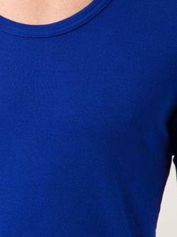 Облегающая Футболка С Круглым Вырезом ATTACHMENT                                                                                                              синий цвет