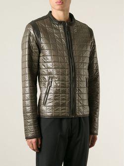 Стеганая Куртка-Бомбер Dolce & Gabbana                                                                                                              коричневый цвет
