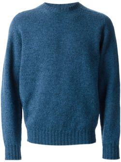 Свитер С Круглым Вырезом E. Tautz                                                                                                              синий цвет