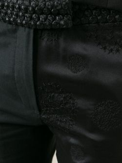 Укороченные Брюки Ann Demeulemeester                                                                                                              черный цвет